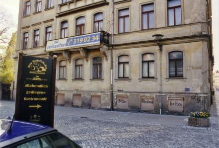 Dresden Neustadt An Der Theresienstrasse